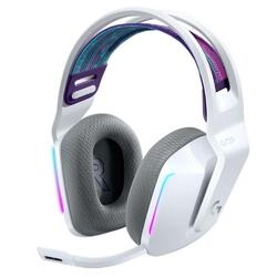 Logitech G733 LIGHTSPEED Surround Sound RGB LED White Wireless USB Headset