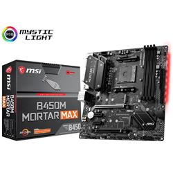 MSI B450M MORTAR MAX AMD AM4 mATX Gaming Motherboard