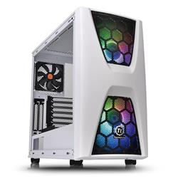 Thermaltake Commander C34 Snow TG ARGB Mid Tower ATX Case