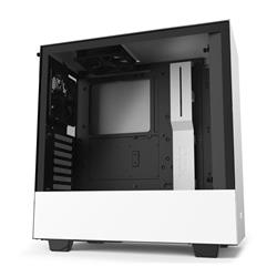 NZXT H510 Tempered Glass Matte White Mid Tower ATX Case