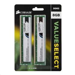 Corsair Value Select 8GB DDR3 1600MHz Memory