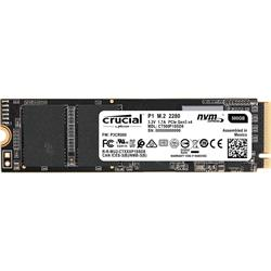 Crucial P1 500GB 1900MB/s 3D NAND NVMe M.2 SSD