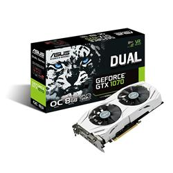 Asus GeForce DUAL-GTX1070-O8G OC Graphics Card