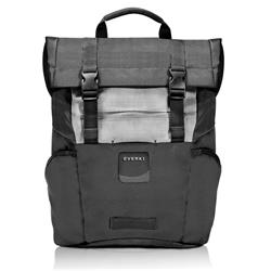 "Everki ContemPRO 15.6"" Roll Top Backpack Laptop Bag - Black"