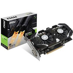 MSI GeForce  GTX1050Ti OC 4GB GDDR5 Graphics Card