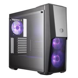 Cooler Master MasterBox MB500 RGB ATX Mid Tower Case - Black