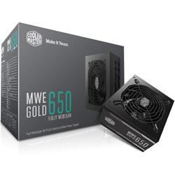Cooler Master MWE 650W 80 Plus Gold Modular ATX Power Supply