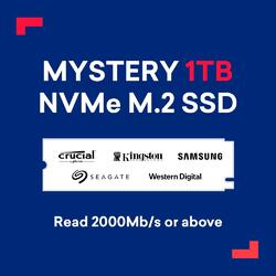 Black Friday Mystery 1TB NVMe M.2 SSD Read 3000Mb/s or above