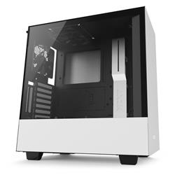 NZXT H500i Tempered Glass Matte White Mid Tower ATX Case