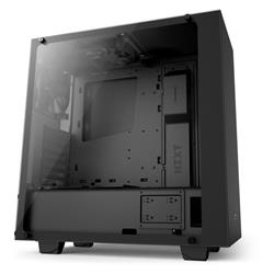 NZXT S430 Elite Tempered Glass Matte Black Mid Tower ATX Case