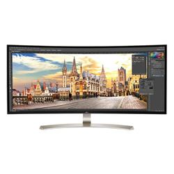 "Open Box Sale -- LG 38UC99-W 38"" WQHD IPS Curved Freesync Monitor"