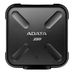 Open Box Sale – Adata SD700 512GB USB 3.1 440MB/s Rugged Black Portable SSD