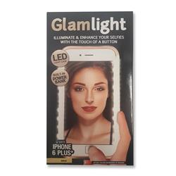 Open Box Sale -- Glam Light iPhone 6 6s Plus Light Up Selfie Case
