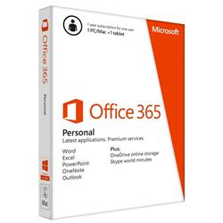 Microsoft Office 365 Personal Retail PC or Mac