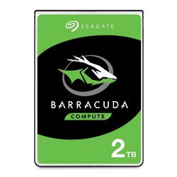 "Seagate BarraCuda 2TB 2.5"" SATA Internal HDD"