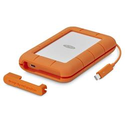 LaCie Rugged Thunderbolt USB-C 4TB USB 3.0 Portable Drive
