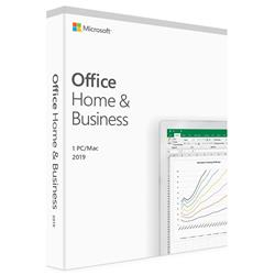 Microsoft Office 2019 Home and Business PC/Mac Retail Pack