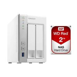 QNAP TS-451+-2G 4-Bay Diskless NAS TS-451plus-2G | shopping express