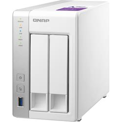 QNAP TS-231P2-1G 1GB 2 Bay Diskless NAS