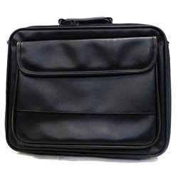 "Toshiba 16"" M1 Leather Laptop Case Black"