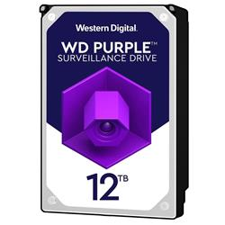 "WD Purple 12TB 7200 RPM 3.5"" SATA Surveillance Internal Hard Drive"