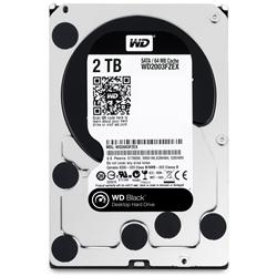 "WD Black 2TB SATA 3.5"" Internal Hard Drive"