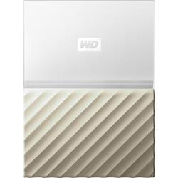 "WD My Passport Ultra 2TB White/Gold 2.5"" Portable Drive"