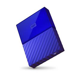 "WD My Passport 2.5"" 4TB Blue Portable Hard Drive"