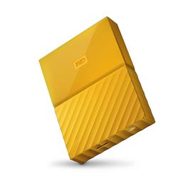 "WD My Passport 2.5"" 1TB Yellow Portable Hard Drive"