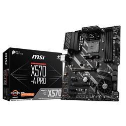 MSI X570 A PRO AMD AM4 ATX Gaming Motherboard